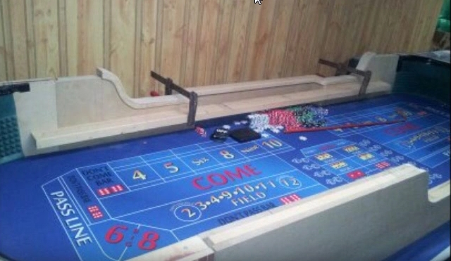 How to Build a Craps Table