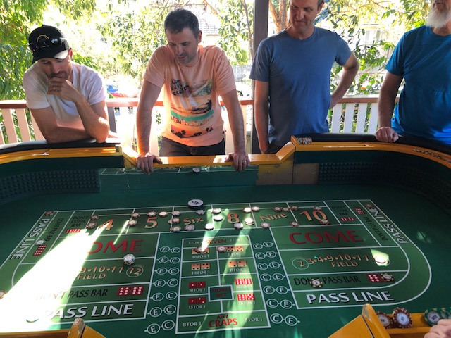 Craps Home Game 2